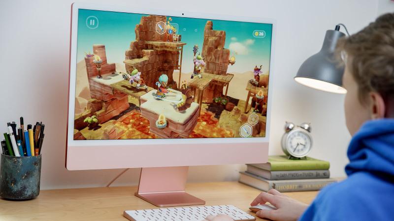 iMac 2021 M1 screen