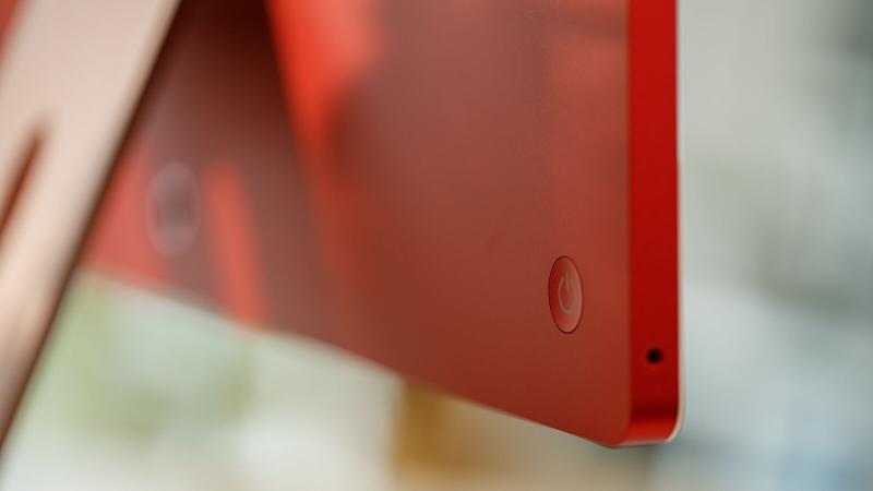 iMac 2021 M1 speakers