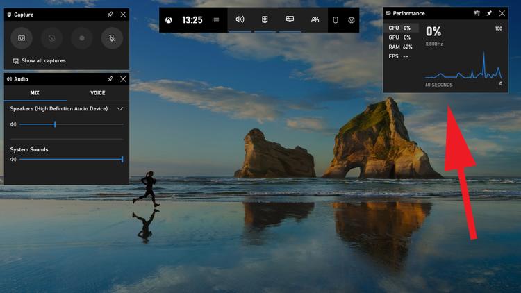 How to display Task Manager widgets on your Windows desktop: Move widget