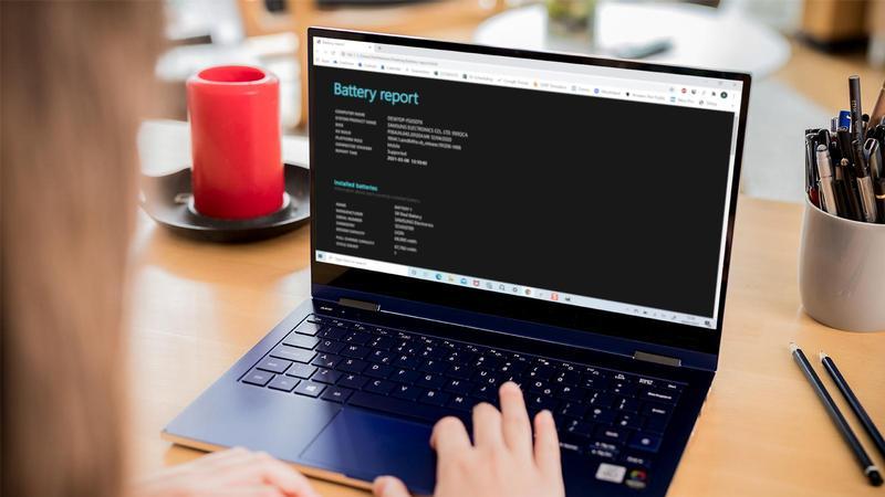 Cómo crear un informe de batería en Windows 10