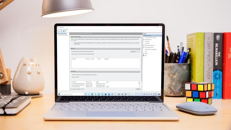 Cómo crear tareas programadas en Windows 10