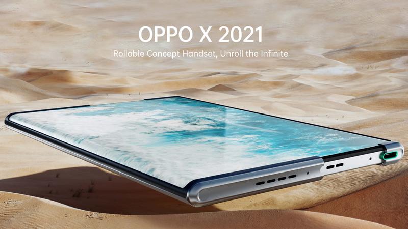 """Oppo X 2021: El primer teléfono """"scrollable"""" de Oppo"""