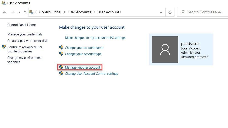 Windows 10 password change 1