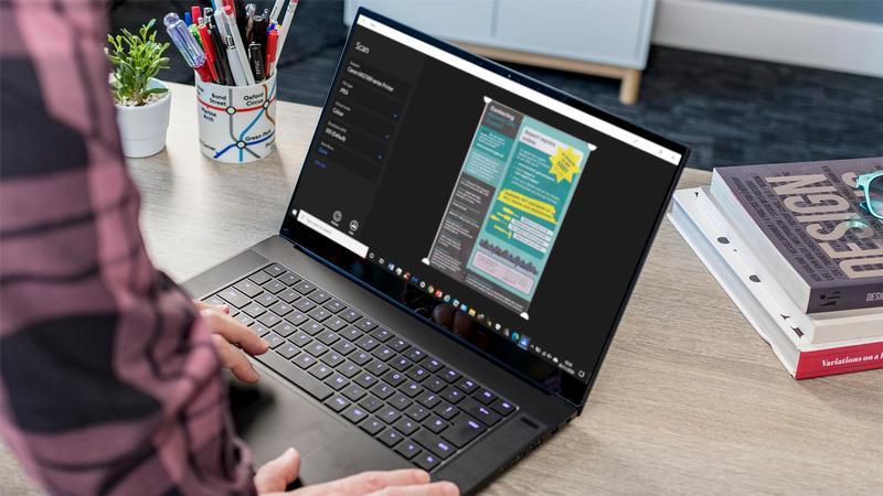 Cómo escanear documentos en Windows 10
