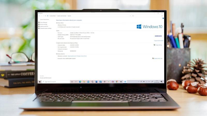 """Cómo acceder al panel de control """"Sistema"""" en Windows 10"""