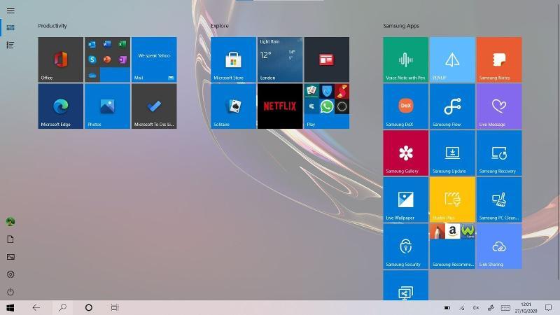 Windows 11 tablet mode