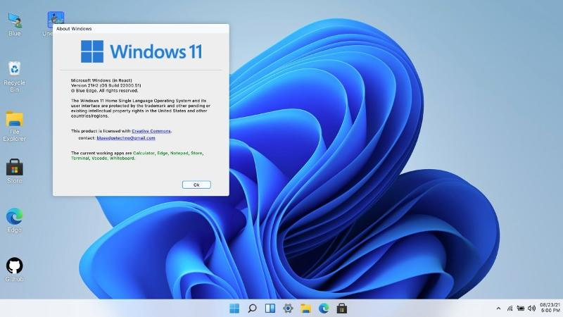Windows 11 from web browser